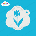 Picture of Tulip Flower  - Dream Mylar Stencil - 300