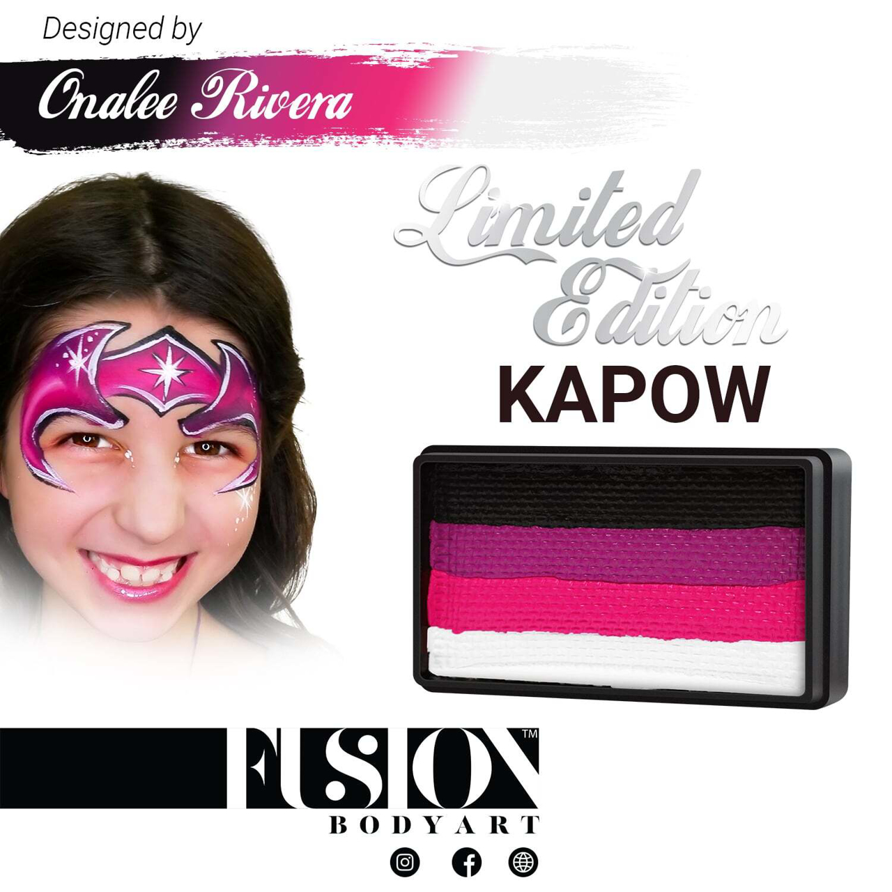 Picture of Fusion Kapow Split Cake By Onalee Rivera - 30g